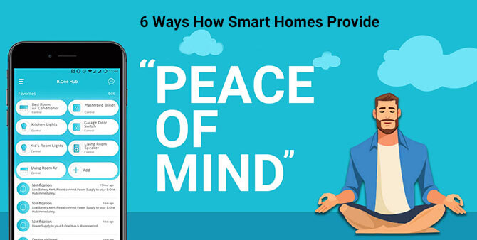 "How Smart Homes Provide ""Peace Of Mind"""